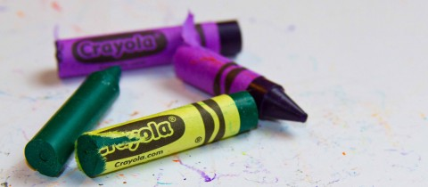 Real world of crayon models