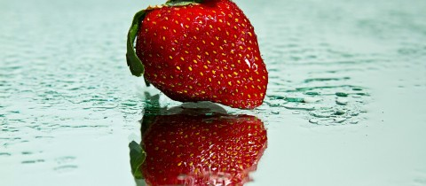Solitary Strawberry
