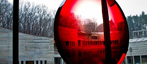 Crystal Bridges – Big Red Lens